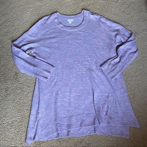 Old Navy lavender sweater 3X